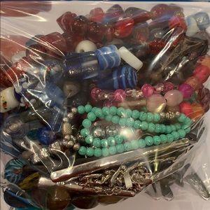 Craft repurpose junk jewelry bag wearable repair